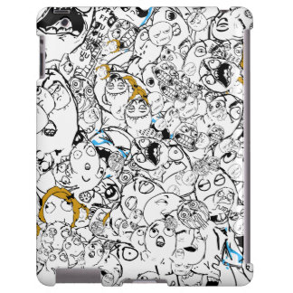 Rage Face Gang iPad Case
