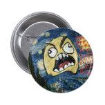 Rage Face Meme Face Comic Classy Painting Buttons