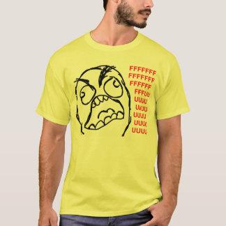 rage face rage comic meme lol rofl T-Shirt