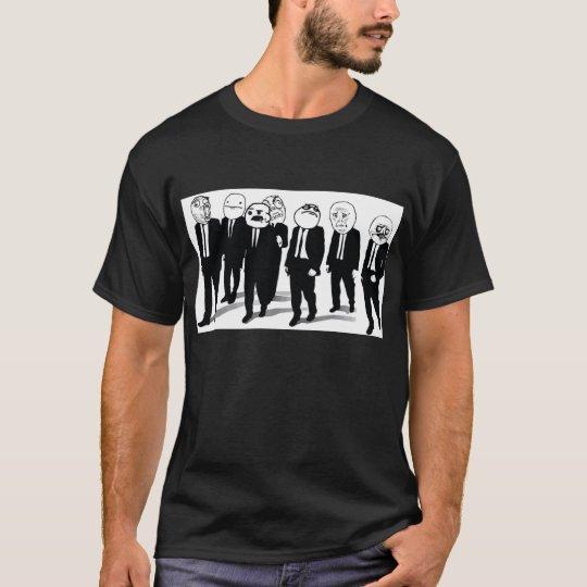 Rage Gang 2-sided Design Black T-Shirt