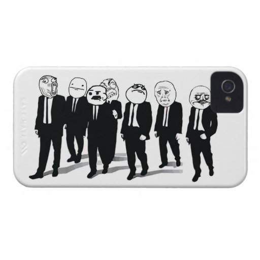 Rage Gang iPhone 4/4S Case Case-Mate iPhone 4 Cases