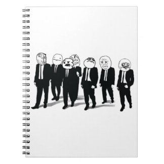 Rage Gang Vertical Notebook