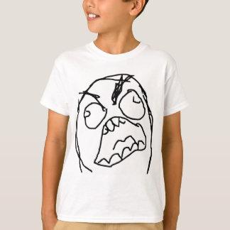 Rage Guy Angry Fuu Fuuu Rage Face Meme T-Shirt