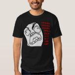 Rage Guy Angry Fuu Fuuu Rage Face Meme Tshirt