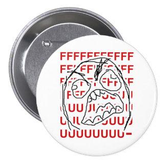 Rage Guy 7.5 Cm Round Badge