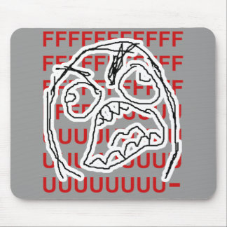Rage Guy Mouse Mat