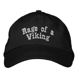 Rage of a Viking Embroidered Hat