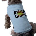 Rage Quit Sleeveless Dog Shirt