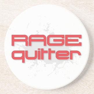 Rage Quitter Gamer Coaster