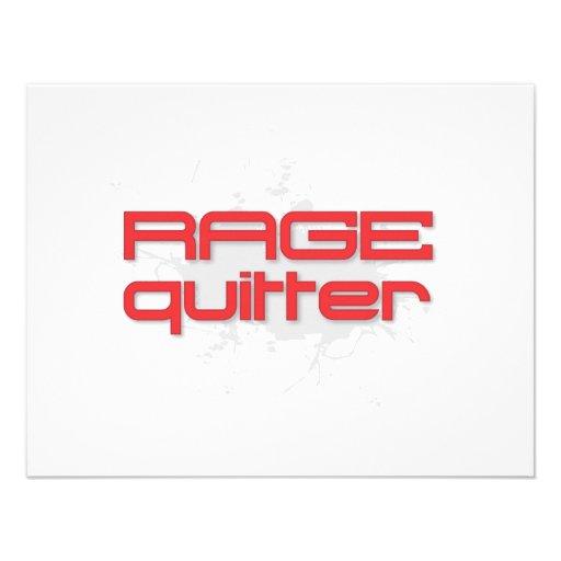 Rage Quitter Gamer Announcements