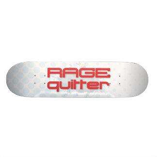Rage Quitter Gamer Skate Board