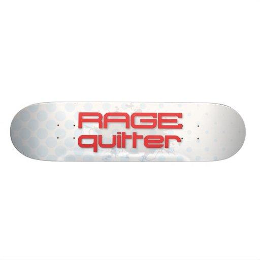 Rage Quitter Gamer Skate Board Decks