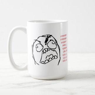 Rage Troll Basic White Mug