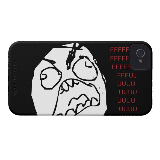 Rage Troll iPhone 4 Cover