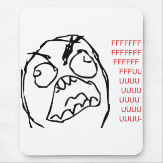 Rage Troll Mouse Pads