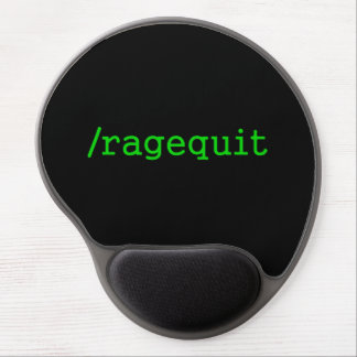 Ragequit Gamer Gel Mouse Pad