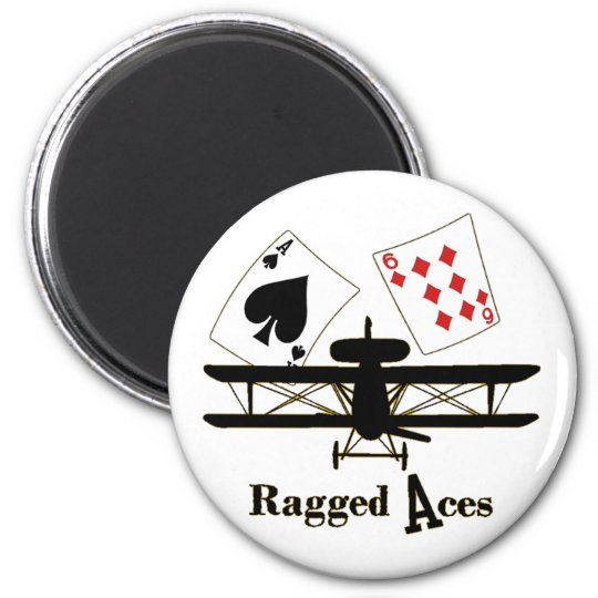 Ragged Aces Ace Magnet