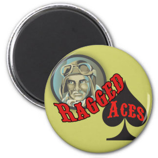 Ragged Aces Magnet