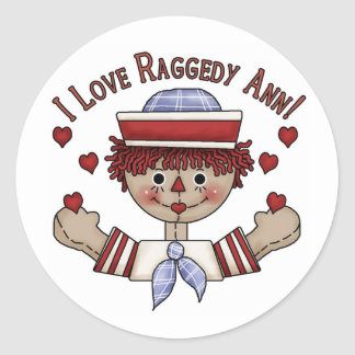 Raggedy Andy stickers