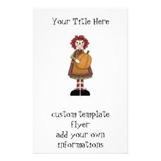 Raggedy Annie 14 Cm X 21.5 Cm Flyer