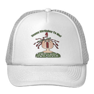Raggedy Doll 4th Birthday Gifts Hat