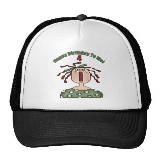 Raggedy Doll 4th Birthday Gifts Trucker Hat