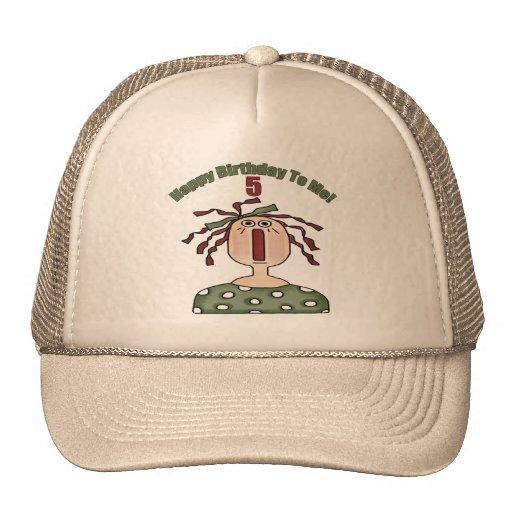 Raggedy Doll 5th Birthday Gifts Trucker Hats