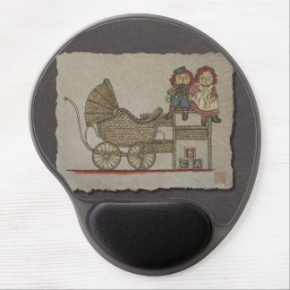 Raggedy Doll Baby Buggy Gel Mouse Pads