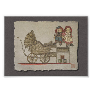 Raggedy Doll Baby Buggy Photograph