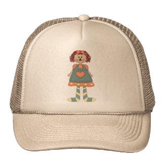 Raggedy Mesh Hat