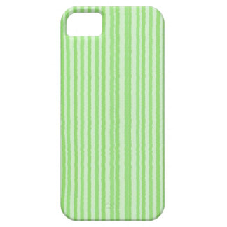 Raggedy stripes green iphone 5 case