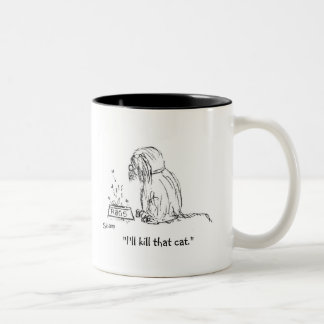 Raggy Dog - Catastrophe Two-Tone Coffee Mug