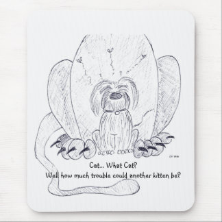 Raggy Dog - Kitty Confusion! Mouse Pad