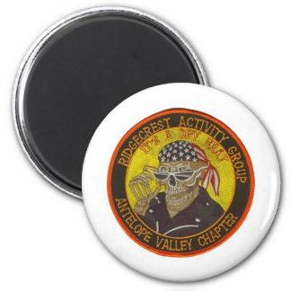 raghoglogo 6 cm round magnet