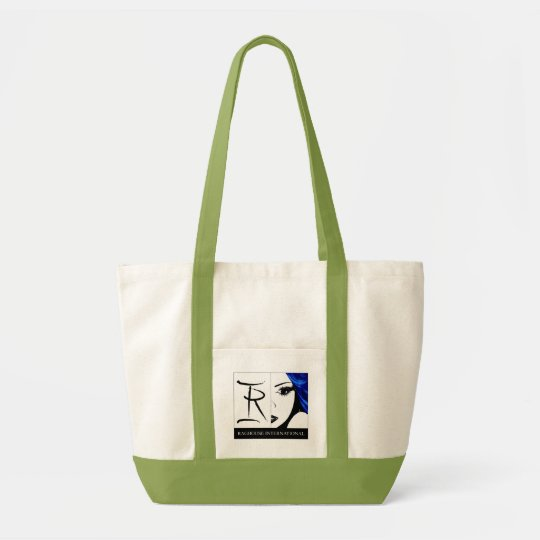 Raghouse International Logo Tote Lime Green