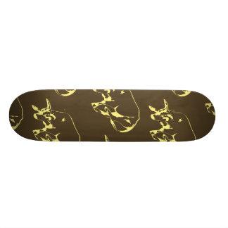 Raging Bull Dark yellows Skateboard