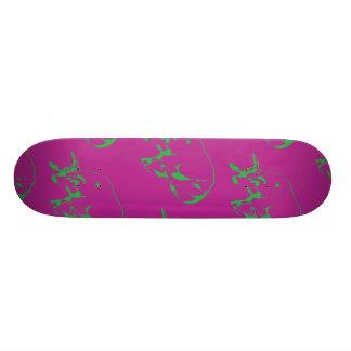 Raging Bull Green Magenta Skateboards