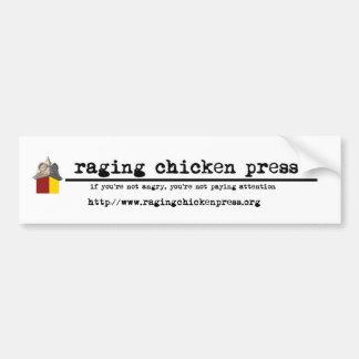 Raging Chicken Press Bumper Sticker