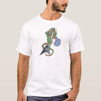 Raging Guitar Dragon T-Shirt