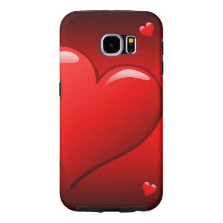 Raging Red Heat Samsung Galaxy S6 Cases