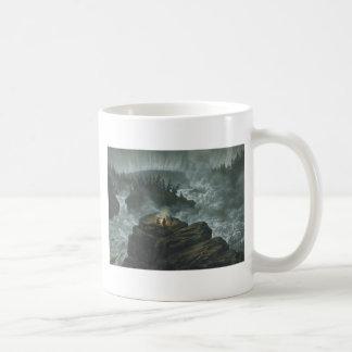 Raging River Basic White Mug