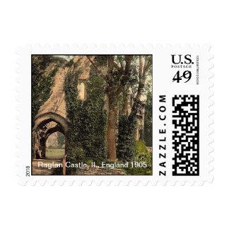 Raglan Castle, II., England 1905 Postage