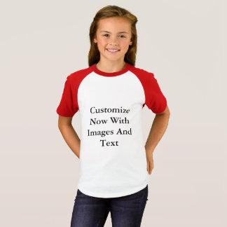 Raglan Shirts - Short Sleeve Girl