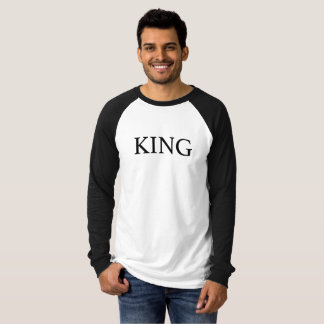 Raglan t-shirt Average Mango Royal Family King