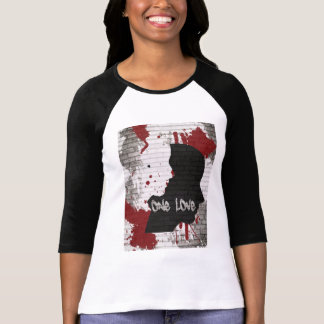 Raglan t-shirt womans