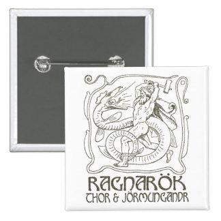 Ragnarök Pinback Button