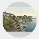 Ragusa, Bella Vista, Dalmatia, Austro-Hungary rare Round Stickers