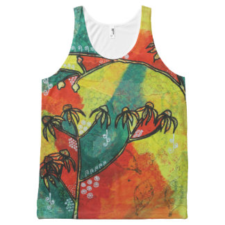 Ragwort and Rosehip Tank Top All-Over Print Tank Top