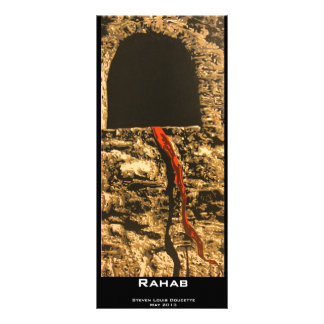 """Rahab"" Value Bookmark Personalized Rack Card"