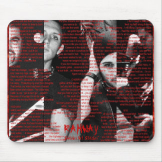 "RAHWAY ""Snitches Get Stitches""Mouse Pad Mouse Pad"